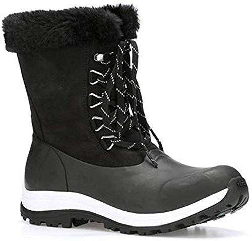 Muck Women's Apres Lace Arctic Grip- Black (Walv-000)