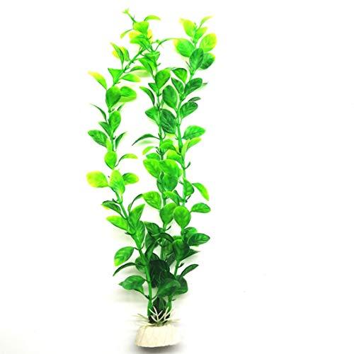 Womdy Künstliche Wasserpflanze für Aquarien, Violett GR