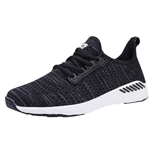 S&H-NEEDRA Chaussure De Securité Homme, Baskets Basses Respirantes Mesh pour Couple Chaussures De Marche Légères Et Antidérapantes Sneakers