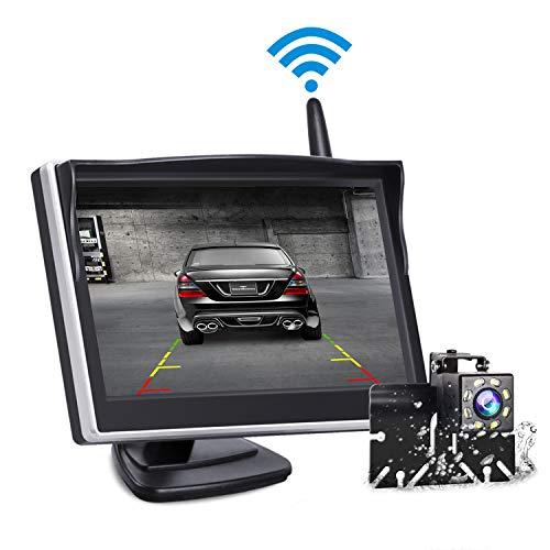 Backup Camera and Monitor Wireless, Reverse Camera...