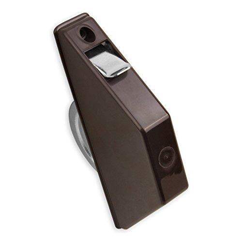 DIWARO® Mini Halbeinlass-Gurtwickler | Lochabstand 135 mm | ohne Gurt | braun