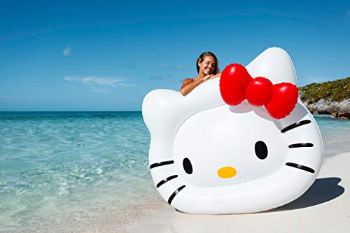 hello kitty floaties for adults #GETFLOATY Giant Hello Kitty Swimming Float   Kawaii Pool Floater for Your Ultimate Fun Under The Sun
