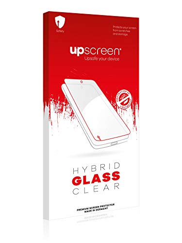 upscreen Protector Pantalla Cristal Templado Compatible con Apple iPhone 12 Pro Hybrid Glass - 9H Dureza