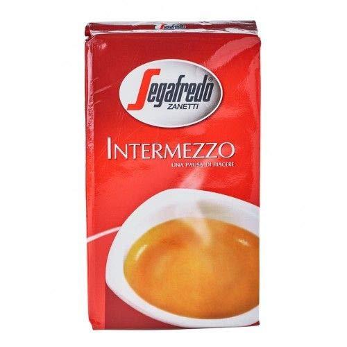 12 x 250 g Segafredo Intermezzo gemalen koffie (12 x 250 g) uit Italië.