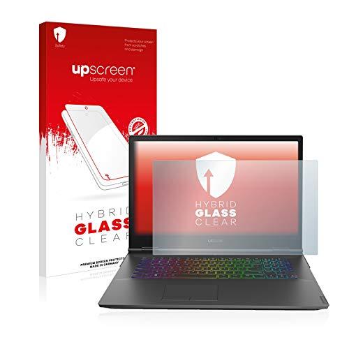 upscreen Hybrid Glass Panzerglas Schutzfolie kompatibel mit Lenovo Legion Y740 17