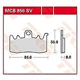 TRW MCB856SV Kit pastiglie freno, Freno a disco