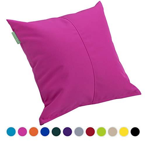 Gardenista | Outdoor Water Resistant Foam Crumb Filled 18' Garden Furniture Cushion (Pink)