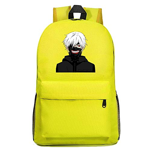 XYUANG Tokyo Ghoul Starry Sky Color Men Backpack Cartoon School Bags Book Shoulder Laptop Knapsack Travel Gift-a