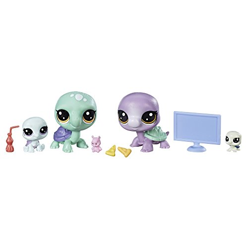 Littlest Pet Shop Movie Night Turtle Crew