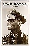 Blechschilder Erwin Rommel Deutscher Soldat historisch 2.
