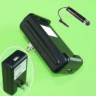 Travel External Dock Battery Charger for Verizon Samsung Galaxy J3 SM-J320V + Cellphone Stylus Mobile Phone USA