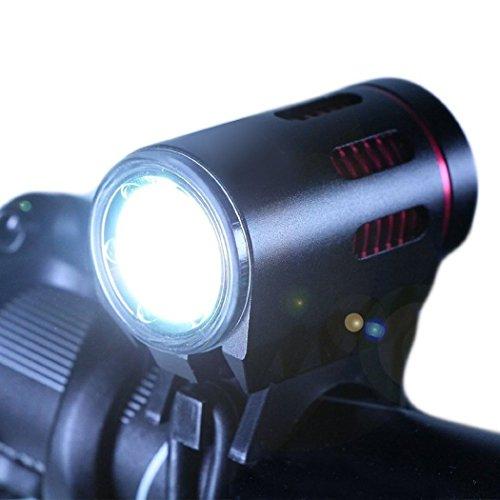 Fahrradbeleuchtung Taschenlampe Spot wasserdicht tobole 2000Lumen CREE XM-L2LED MTB wiederaufladbar Taschenlampen vorne für Fahrrad MTB mit 3Modi Ladegerät EU