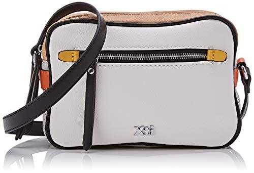 XTI 86277.0, Bolso bandolera para Mujer, Blanco (Blanco),