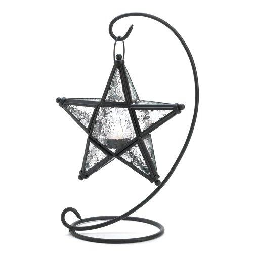 Gifts & Decor Tischplatte Starlight stehend Kerzenhalter Laterne Lampe