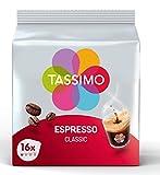 Tassimo Café Espresso Classique 40 Boissons (Pack de 5x16 Tdisc)