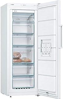 """""""Bosch GSN29UWEV Congélateur vertical pose-libre Série 4, 200L, 5 tiroirs de congélation, 161 x 60 cm, Blanc"""""""