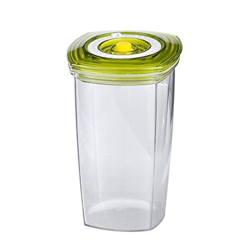 Vacucraft Airtight Juice Storage Container with Lid and Pump For Orange Juice, Coffee, Smoothie, Protein Shake + More