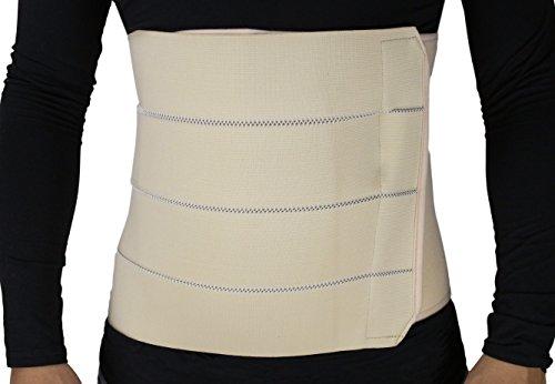 ObboMed® MB-2322NXL Faja abdominal de 4 paneles (XL: 109,2 – 119,4 cm/ 43 – 47 pulgadas) ✅