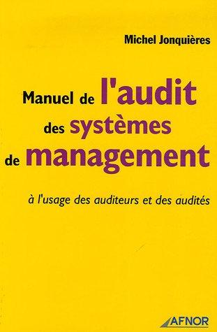 Manuel de l'audit des systèmes de management