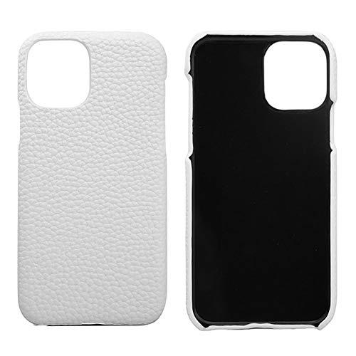Lederen Case voor Iphone 11 / SE 2020 / SE 2 Premium Echte Koeienhuid met Nieuwe Slanke Ontwerp Dunne Bescherming Harde Achterkant Van de Behuizing,White,SE 2