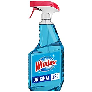 Windex Glass and Window Cleaner Spray Bottle, Bottle Made from 100% Recycled Plastic, Original Blue, 23 fl oz (B01GFLZ0WU) | Amazon price tracker / tracking, Amazon price history charts, Amazon price watches, Amazon price drop alerts