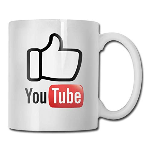 taza de café You are Good YouTube Logo Personalized Gift Ceramic Personality Coffee Mug Water Tea Drink Cup 330ml White