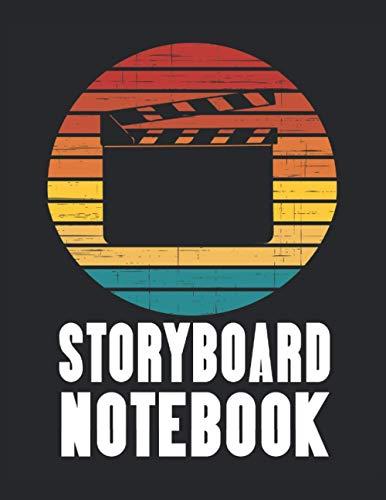 Cuaderno de guiones gráficos de claqueta para directores de cine, animadores y narradores creativos: Campos de toma de escena y fotograma de toma de ... productores de televisión y artistas visuales
