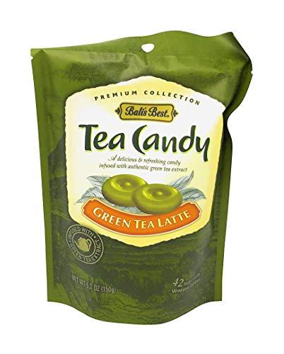 Bali's Best Green Tea Latte Candy - 42 pieces - 5.3 Oz