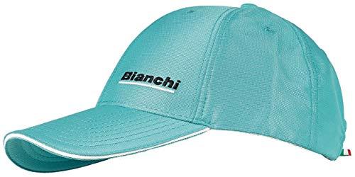 Bianchi - Gorra de béisbol de color azul claro y blanco, código C9620906.