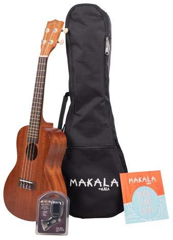 Kala Makala MK-C/PACK - Concert Ukulele Pack, with Tuner & Bag