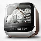 ZXCVB Instalación de escritorio gratuito for lavavajillas doméstica pequeña Pincel inteligente Bowl, sin instalación inteligente, ahorro de agua y electricidad, 2-4 Hogares