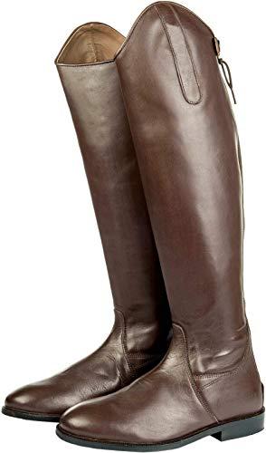 HKM Italy Kurz/Standardweite Botas de Equitación, Hombre, Marrón, 43 EU