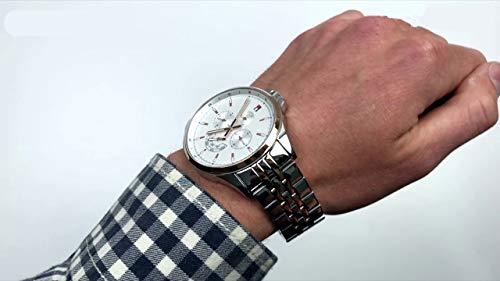 Tommy Hilfiger Reloj Multiesfera para Hombre de Cuarzo con Correa en Acero