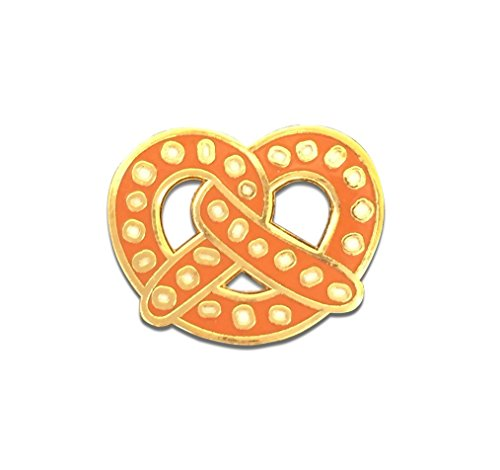 Black Jaguar Pretzel Pin | Spilla dell Oktoberfest | Gioielli dell Oktoberfest | Pretzel Pin | Fascino dell Oktoberfest Taglia unica Marrone