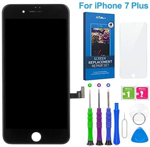 FLYLINKTECH Touch Screen per iPhone 7 Plus Schermo Display LCD Vetro Digitizer Parti di Ricambio Kit Smontaggio trasformazione Completo di Ricambio - Utensili Inclusi