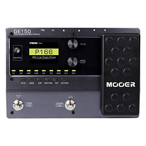 gitarren effekte multieffektgerät mooer ge150 amp modelling effektpedal