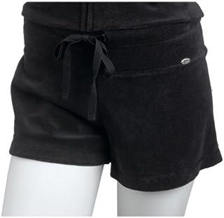 Speedo Women's Terry Cloth Short, Black, X-Large