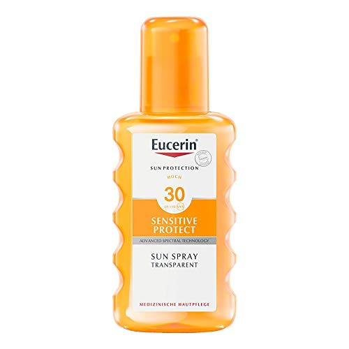 EUCERIN Sun Spray transparent LSF 30 200 ml