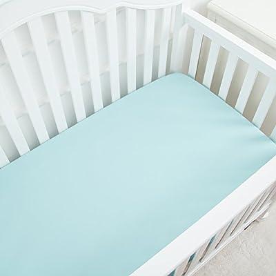 TILLYOU Microfiber Crib Sheet
