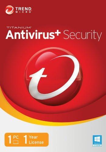 Trend Micro Titanium AntiVirus 2014 1 User Old Version product image