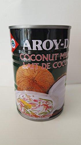 Aroy-D Latte di cocco per dolci, 400 ml