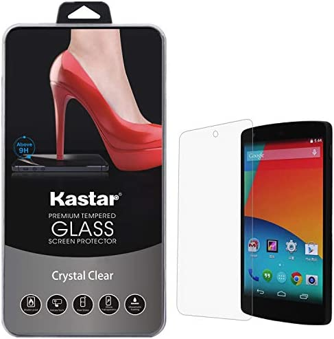 Kastar Nexus 5 Screen Protector 1 PACK Premium Tempered Crystal Clear Glass Screen Protector product image
