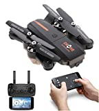 Amitasha New 480p Foldable Wi-Fi Camera Drone with Altitude Hold and Headless Mode