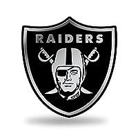 NFL Rico Industries Chrome Finished Auto Emblem 3D Sticker, Oakland Raiders