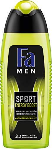 Fa Men Sport Energy Boost Duschgel, 6er Pack (6 x 250 ml)