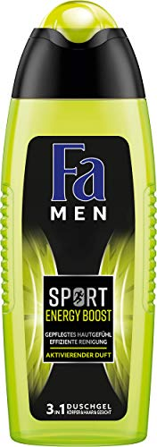 Fa Men Sport Energy Boost douchegel (1 x 250 ml) Men Sport Energy Boost 6 x 250 ml Sport Energy Boost
