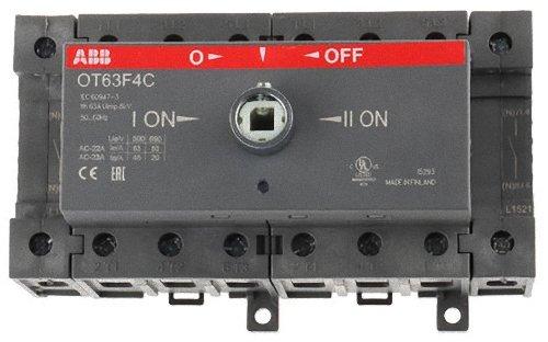 ABB OT63F4C Componente Elettronico, White