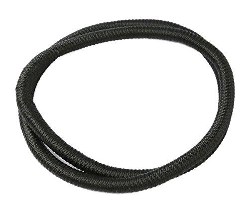 KINGREE Modern Black Arab Agal Desert Cord Ring, Arab Aqel Rope (Arabic Egal Headband Keffiyeh/Shemagh Wrap)