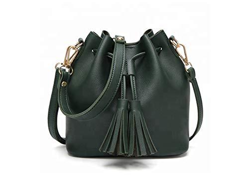 Lotus Women Handbags Shoulder Ladies Girls Bags PU Leather Fashion Tote Bags - 78803...