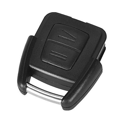 1x St. Ersatz Unterteil Tastengehäuse mit 2 Tasten Autoschlüssel Chiavi Schlüssel Fernbedienung Funkschlüssel Gehäuse ohne Schlüsselrohling